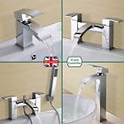 ARKE BATHROOM CHROME SINK BASIN MONO MIXER BATH FILLER SHOWER TAP SOLID BRASS