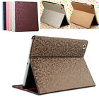 Luxury Diamond Bling Skin Magnetic Smart Stand Cover Case For iPad 2/3/4 Gen