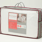 Canadian Goose down pillows x 4  - 1000g filling 500t/c