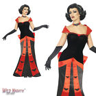 Halloween Fancy Dress # Ladies Glam Vampiress Costume Size 8-18