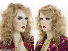 Long Medium Lace Front Monofilament Wig Pro Curly Blonde Brunette Red Wigs
