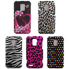 For ZTE Warp LTE 4G N9510 Cover Hard Design Snap On Protector Accessory Case