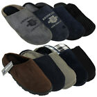 New Mens Faux Suede Luxury Mule Slipper Quality Mules Slippers Size UK 6-12