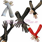 Gloves Elbow Length Lace Opera Fancy Dress Evening Party Long Goth Halloween