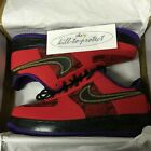 NIKE AIR FORCE ONE YOTS YEAR OF THE SNAKE US UK 8 9 10 Red 555106-600 NRG 2013