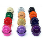 High Quality Foil Metallic Cupcake Muffin Baking Cases Multi Colours UK