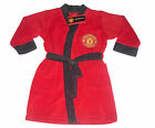 BOYS DRESSING GOWN ROBE MANCHESTER UNITED 18-5 YEARS OLD