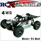 RC Buggy Fast Electric Off Road 1/18 Radio Remote Controlled Car 4x4 4WD Mini UK