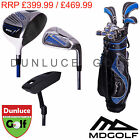 MD GOLF SEVE BALLESTEROS BLUE SIGNATURE COMPLETE PACKAGE SET - NEW CLUB TOUR