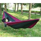 Outdoor Travel Camping Parachute Nylon Fabric Hammock Bed For 2 Person 275x140cm