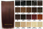 LADIES SALON SYNTHETIC SILKY QUICK FIT CLIP IN HAIR WOMENS EXTENSIONS 24 COLORS