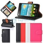 Luxurious Magnetic Wallet PU Leather Case Cover Pouch For LG Optimus L4 II E440
