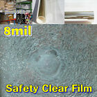 8MIL/Safety Clear Film/Window/Solar/Tint/home/Security/LONG/Roll/Cohice Size/