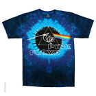 New PINK FLOYD 40th Concentric Tie Dye T Shirt