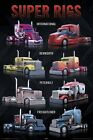 New American Super Trucks Super Rigs Poster