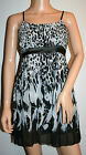 New Women's AZAKA Animal Print Dress sizes S/M & M/L Party, Cocktail