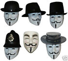 Anonymous V for Vendetta Mask & Hat Guy Fawkes We Are 99% Disobey