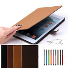 New Suede Leather Smart Case Stand Retro Cover Cover For Apple ipad Air 5th