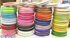 "100y Plain Grosgrain Ribbon H012  20 color U PICK 3/8"" 10mm 5/8"" 16mm 7/8"" 22mm"