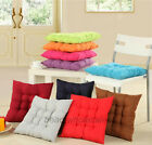 Solid Colours Soft Warm Cushion Office Chair Car Seat Cushion Pad