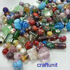 40-500g Handmade Glass Lampwork Beads, Mixed style/shape/Color C141 U PICK Qty