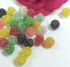 30-100 pcs Acrylic berry bead AB Color 10mm 15mm c288 U PICK