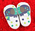 Toddler Baby Boy Girl Elephant Soft Sole Crib Shoes Size Newborn to 18 Months