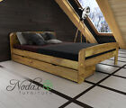 "*NODAX* Wooden Furniture Pine King Size Bed 5ft UK/Option Underbed Storage ""F2"""