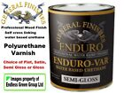 General Finishes ENDURO VAR - Pro finish Polyurethane Wood Varnish CHOICE  946ml
