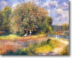 HUGE Renoir Chestnut Tree Blooming Stretched Canvas Giclee Art Repro ALL SIZES