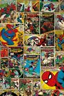 New Marvel Comics The Amazing Spider-Man Comic Collage Marvel Comics Poster