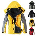 New Outdoor Climbing Fashion Two-piece Men Sport Coat Winter Waterproof 5 Colors