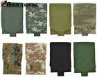 8Color Military Tactical 1000D Molle Administrative Cellphone Pouch Bag Black A