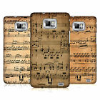 HEAD CASE DESIGNS MUSIC SHEETS CASE COVER FOR SAMSUNG GALAXY S2 II I9100