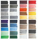 Coloured Italian braided lighting 3 core fabric cable
