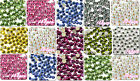 144pcs sparkling Resin Rhinestone Flatback Crystal 2.8mm 14 Facets Gems beads