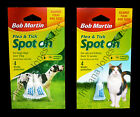 BOB MARTIN SPOT ON FLEA TICK REMEDY LARGE DOGS CATS KITTENS 4 WEEKS PROTECTION