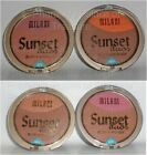 Milani Duos Blush & Bronzer - Sunset Shores or Sunset Breeze - Set of 4