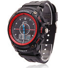OHSEN Men Women Digital LCD Alarm Date Military Sport Diving Quartz Wrist Watch