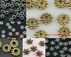 Wholsale Antique Tone Flower Daisy Spacer Beads Findings for jewelry diy