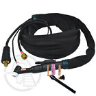 Kennedy TIG Welding Torches WP17 WP18 WP26 Air Cooled / Water Cooled + 4m Cable