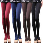 Women's Winter Thick Warm Leggings Slim Stretch Footed Tights Pants Pantyhos Y01