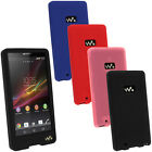 Silicone Skin Case Cover for Sony Walkman NWZ-F886 F887 32/64GB + Screen Prot.