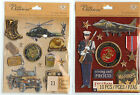 "U CHOOSE K&Company 4-1/4"" X 5"" MARINES  ARMY 3D Stickers military"