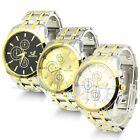 Mens Charming Top Quality Stainless Steel Quartz Movement Wrist Watch Watches