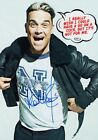 ROBBIE WILLIAMS Swings Both Ways SIGNED Autographed PHOTO Print POSTER Shirt 007