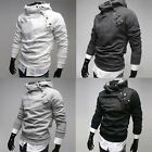 Hot Mens Fashion Slim Fit Sexy Top Designed Hoodies Jackets Coats Size S-XL PJ