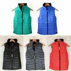 NWT Calvin Klein CK Women Quilted Puffer Vest Jacket Warm Down Feather S/M/L/XL