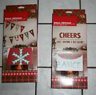 NWT Impact Innovations Christmas Wall Decals ~Be Merry or Cheers~