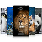 HEAD CASE WILDLIFE PROTECTIVE SNAP-ON BACK CASE COVER FOR SONY XPERIA C C2305